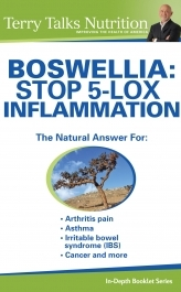 BOSWELLIA: Stop 5-LOX Inflammation