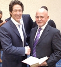Joel Olsteen with Terry