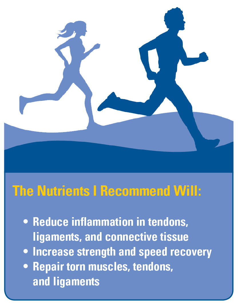 Stay Active With Nutrients For Ligaments And Tendons Terry Talks