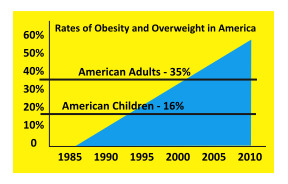 Overweight and obesity chart